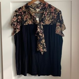 NWT Anthropologie TINY Blouse, Size Large